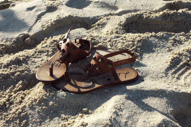 sandals on the beach in aruba