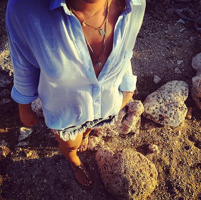 simple beachy bohemian style