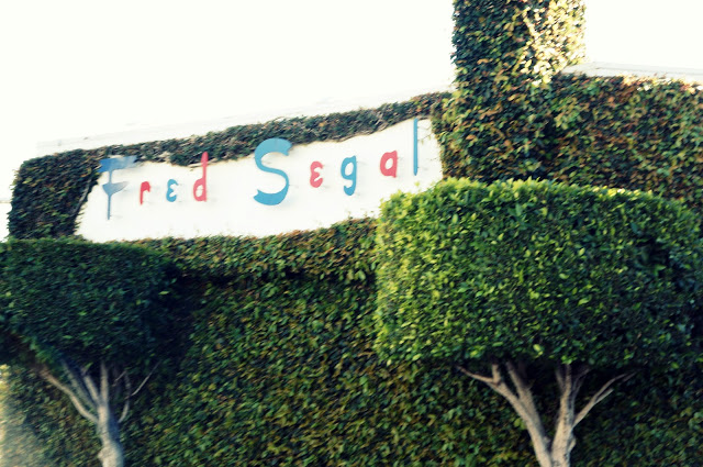 fred segal sign in downtown hollywood