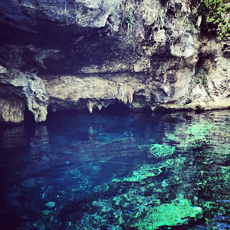 cenotes ponds in tulum