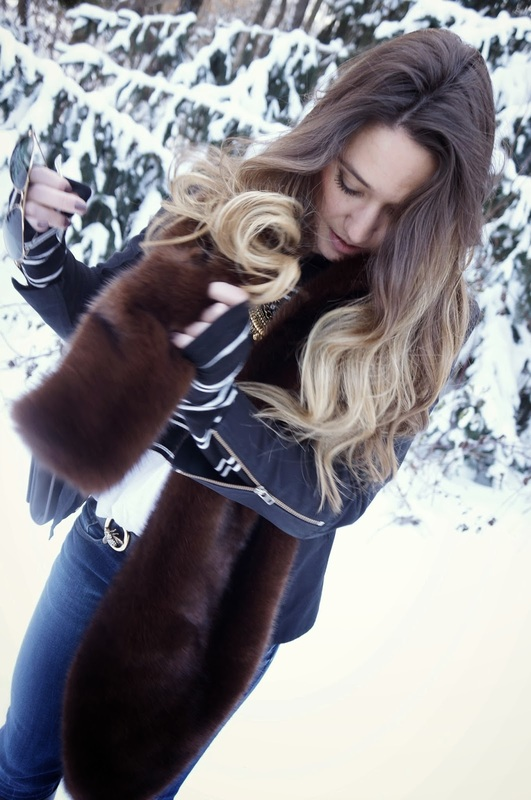 winter chic style by ela mariie