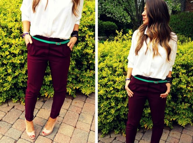 menswear inspired look by ela mariie