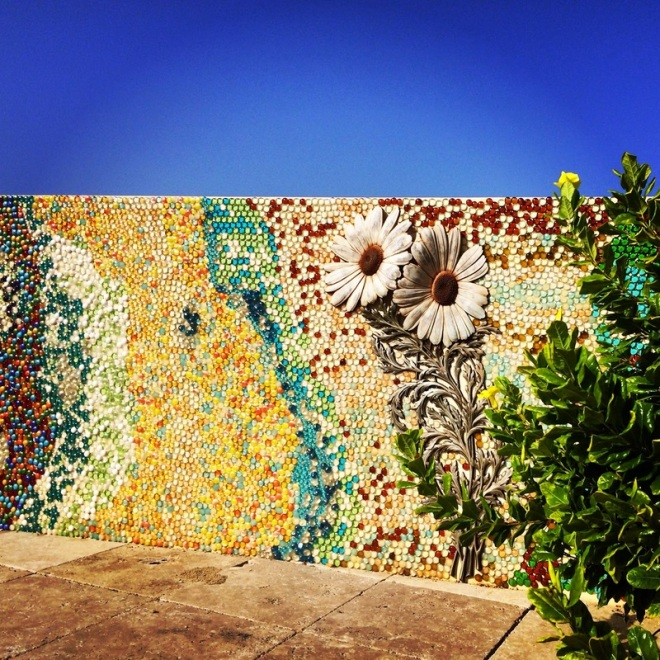 rainbow mosaic in aruba