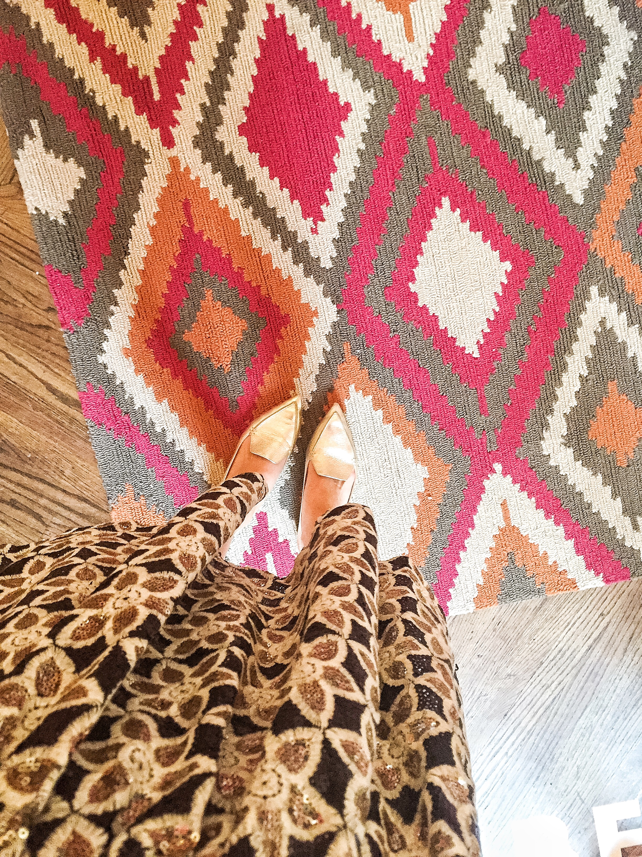 cute picture of dress and carpet