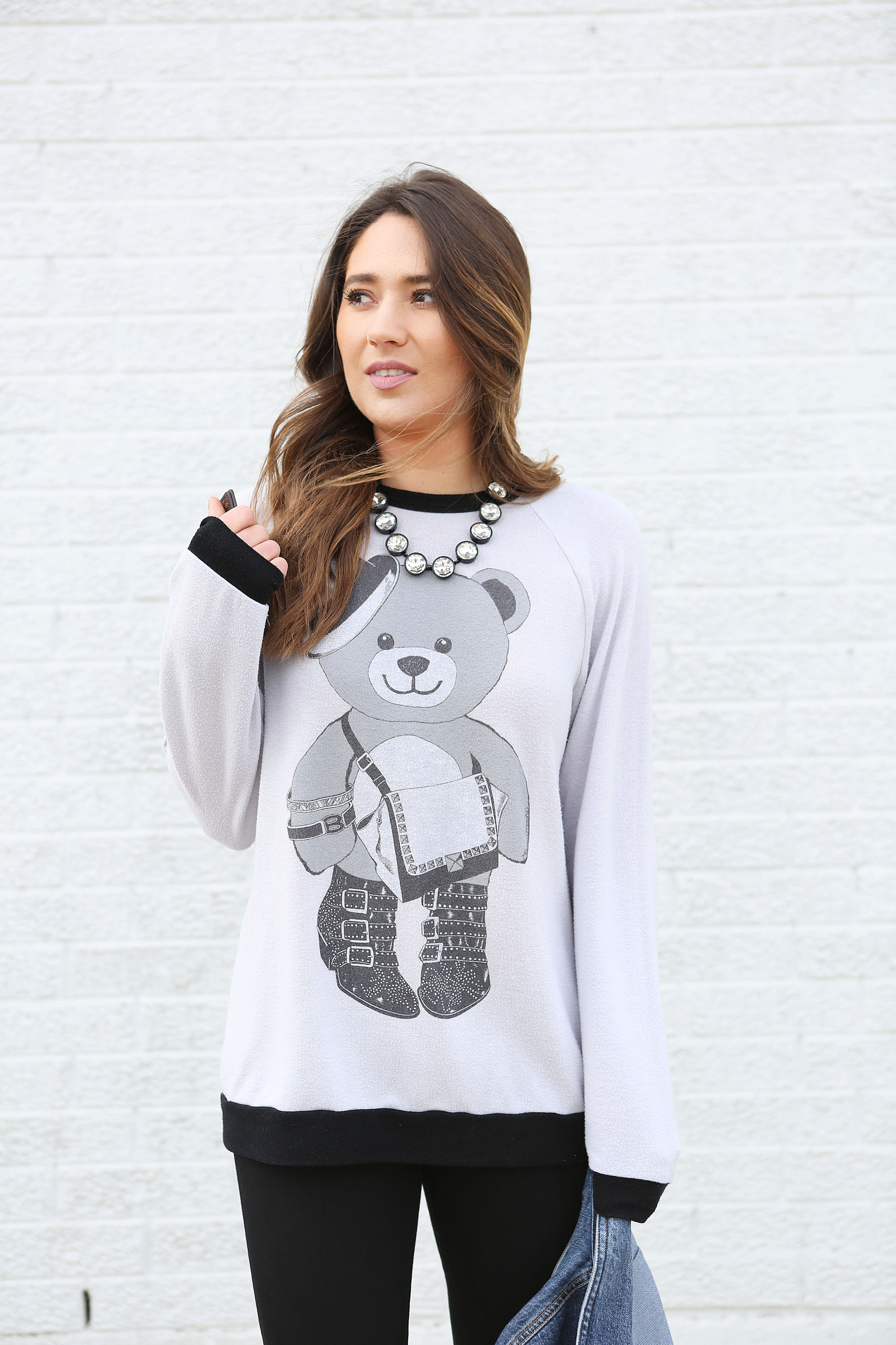 statement-necklace-comfy-sweater