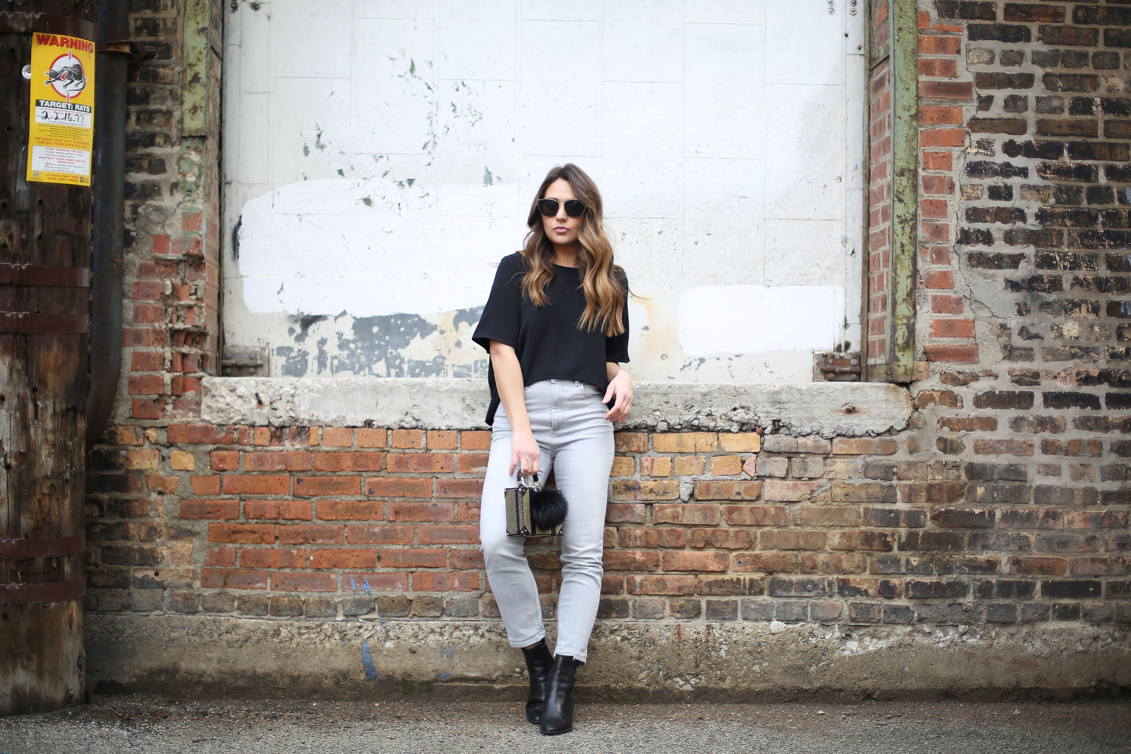 grey-jeans-black-top-booties