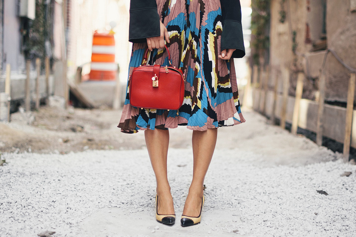 dolce-and-gabbana-purse-generation-bliss-skirt-prada-shoes