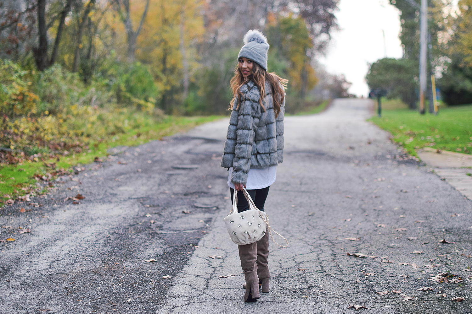 faux-fur-with-pom-pom-hat-cute-purse