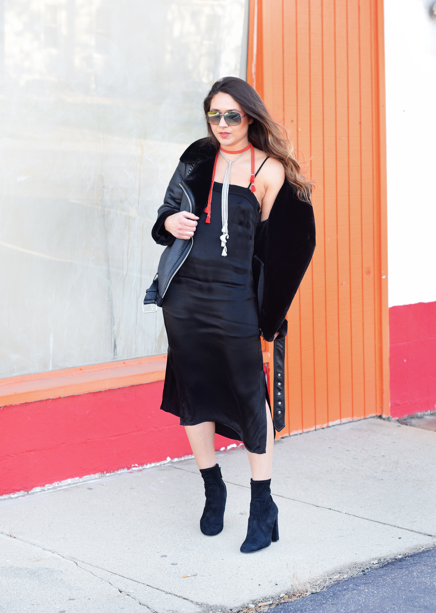 cool-oufit-how-to-wear-a-dress-in-winter