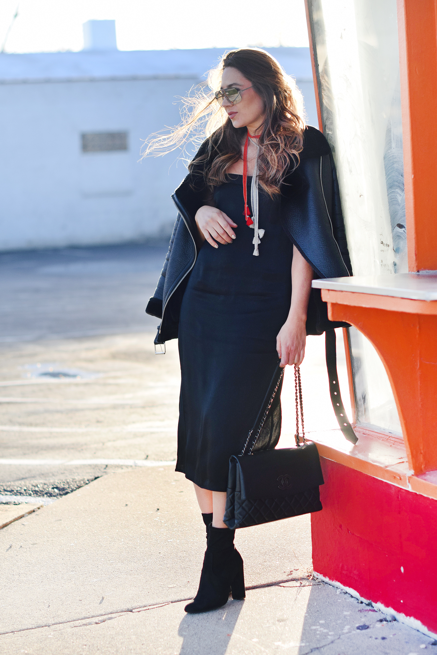 black-slip-dress-black-leather-coat-booties