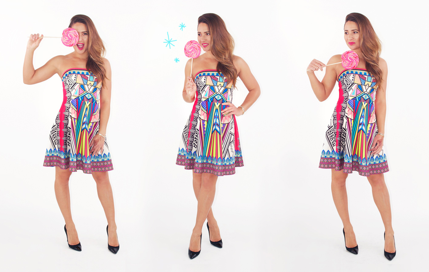girl-with-lollipop-cute-colorful-mini-dress
