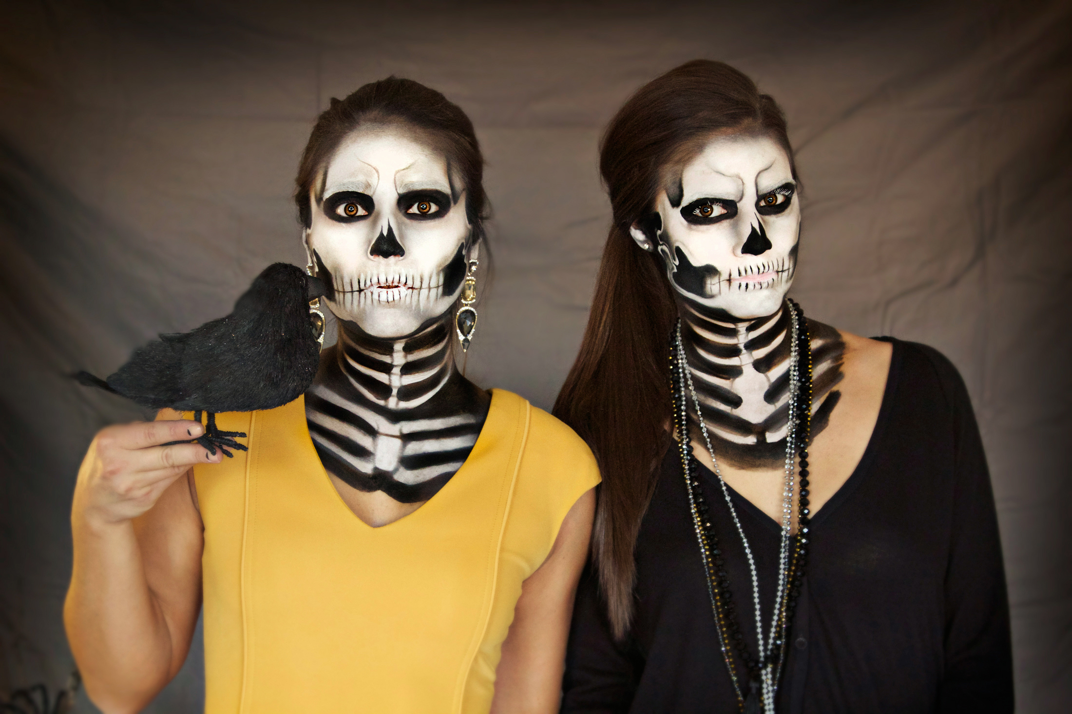 alex-faction-skeleton-makeup-halloween-awesome