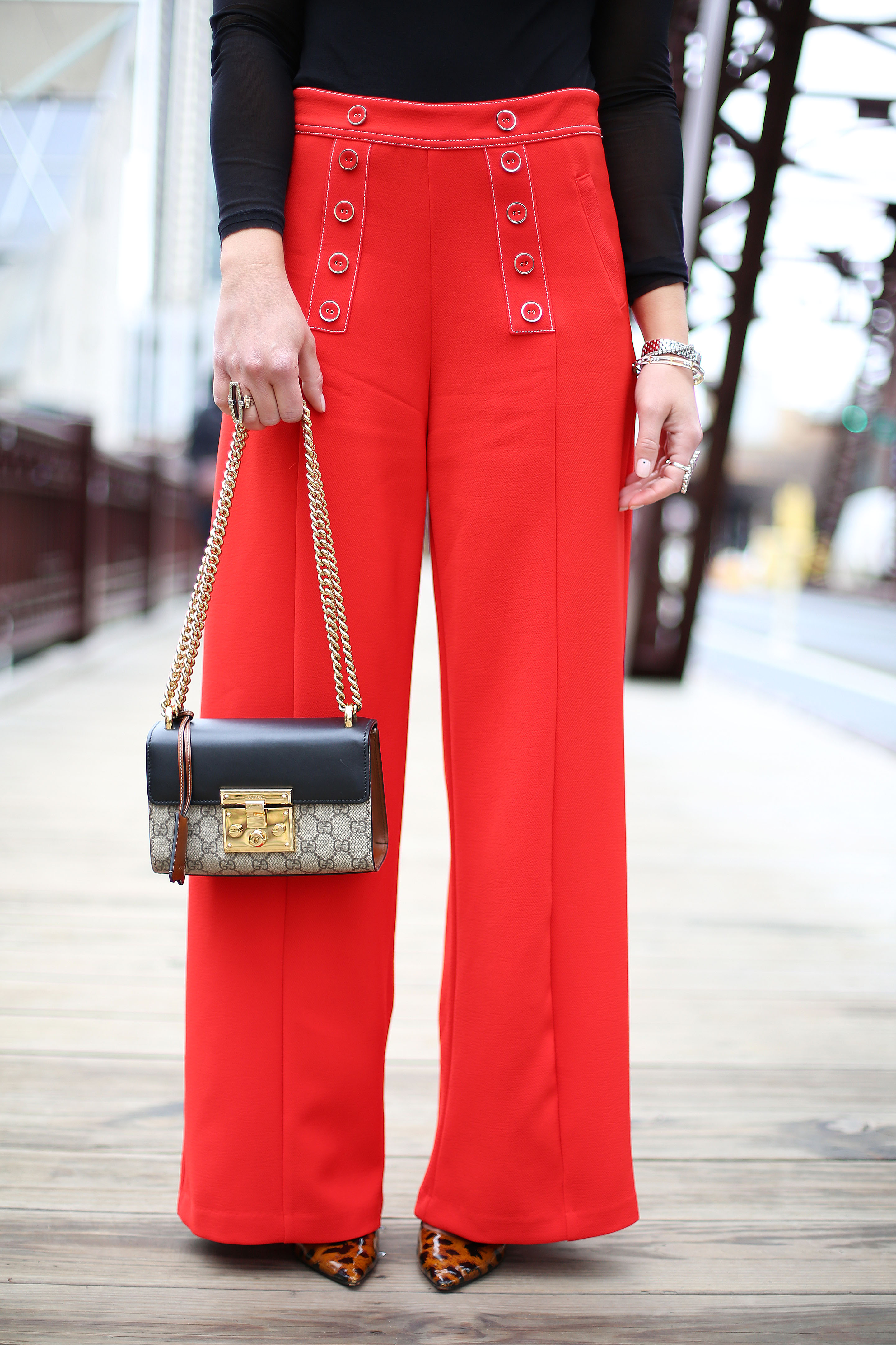 lucy-paris-red-hot-trousers-donna-pants